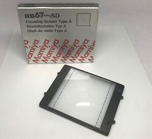 [Mint] Mamiya Rb67 Pro SD Focusing Screen Type A Da Giappone #589