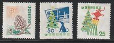 Korea   1957   Sc # 265-67   New Year   MLH   OG   (1633-6)