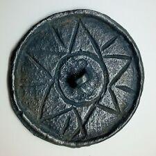 Bronze Mirror Slavs Star / Solar sign 500-900AD. Pendant  Coin / Viking