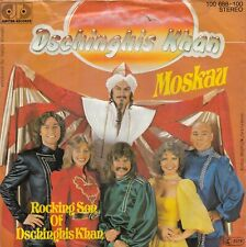 "DSCHINGHIS KHAN MOSKAU /ROCKING SON OF DSCHINGHIS KHAN 1979 RECORD GERMANY 7"" PS"