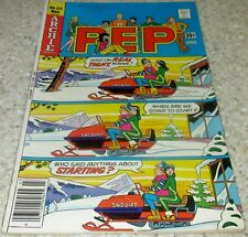 Pep 323, Archie 1977, (Vf- 7.5) 30% off Guide! Snowmobile cover!