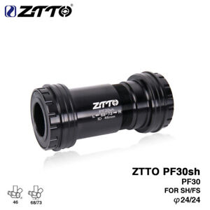 ZTTO Bike Bicycle PF30sh Press Fit Bottom Bracket PF30 Adapter for 24mm Crankset