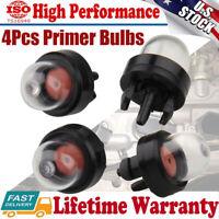 4Pcs Primer Bulb Pump Bulbs for Homelite Echo Stihl Poulan Craftsman chainsaw