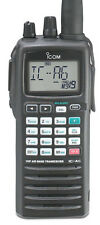 Icom IC-A6/NM+- Handheld Com Transceiver w/Extra Battery