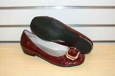 NEW Kelly & Katie Whitney Flat, Patent Leather Burgandy, Size 7; $69