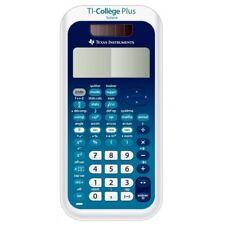 calculatrice texas instrument TI-collège Plus