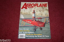 Aeroplane Monthly 1991 March Siskin,Stirling,Baroudeur,Saro Shrimp,MacRobertson