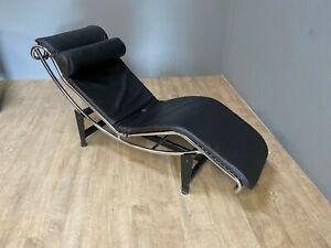 Le Corbusier style chaise lounge LC4