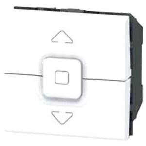 interrupteur individuel de volets roulants Mosaic legrand Blanc 099656