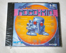 BRAND NEW NEC PC ENGINE Hu card ATOMIC ROBO KID special UPL Japan B