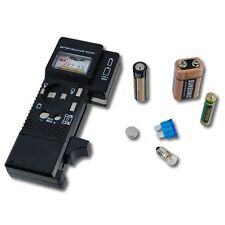 Battery, Bulb and Fuse Tester with Meter