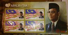 Malaysia Day 50th formation Years Merdeka  Tunku Abdul Rahman Stamp MS MNH