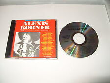 Alexis Korner - And - 1972-1983 - cd 1992 - 18 Tracks cd Excellent condition