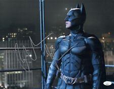 Christian Bale Signed 11X14 Photo BATMAN Dark Knight IN PERSON Autograph JSA COA