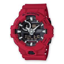 Orologio Casio G-Shock GA-700-4AER Illuminator Rosso Nuovo Originale Ufficiale