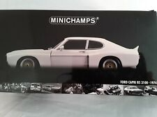 Ford Capri RS 3100 * 1974 weiss * 1:18 Minichamps 183748003