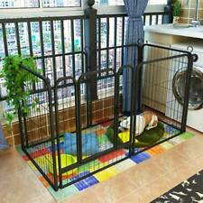6 Panel Fence Foldable Pet Play Pen Puppy Dog Animal Cage Run Exercise Playpen