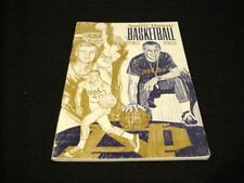 1967-1968 University of Notre Dame Basketball Media Guide
