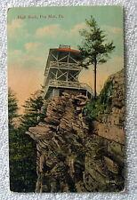Postcard High Rock Pen Mar Pennsylvania #jq8