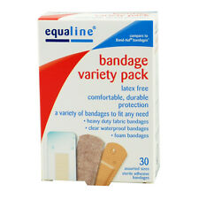 90Pcs/3Boxes Variety Pack 3 Style Adhesive Bandages Assorted Flexible Band Aids