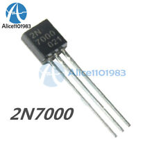 100PCS 2N7000 MOSFET N-CHANNEL 60 Volts 0.2 Amps TO-92 New
