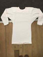 Vintage Russell Athletic Gold Tag Raglan Sleeve Football Jersey Small Soft Thin