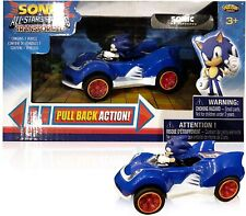 Sonic the Hedgehog Racing Pull Back Speed Race Action Car Figure Gift Toy Kids