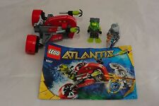LEGO Atlantis #8057 Wreck Raider complete with instructions and Minifigures