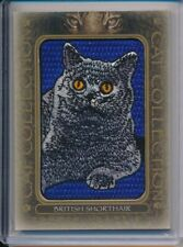 2020 Upper Deck Goodwin Champions Cat Collection Tier 1 British Shorthair Patch