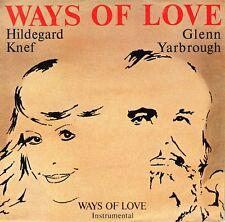 "7"" Hildegard Knef & Glenn Yarbrough – Ways Of Love // Germany 1987"