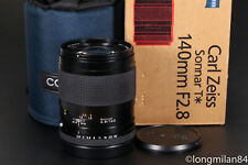 *MINT-* Contax Carl Zeiss Sonnar 140mm f2.8 T* for Contax 645 140/2.8 BOXED