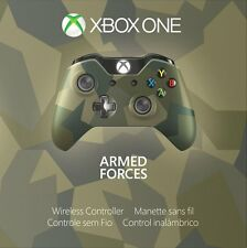 Genuine Xbox One Special Edition Armed Forces Wireless Controller - GK4-00042 VG