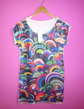 Short Sleeve Machine Washable Multi-Colored Regular Tops & Blouses for Women