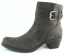 Cole Haan Womens Ankle Boots Buckle Genuine Leather Brown US 8.5 EU 40 EUC $240
