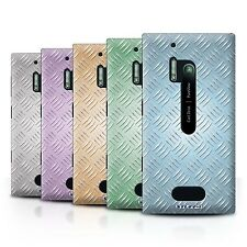 STUFF4 Back Case/Cover/Skin for Nokia Lumia 928/Embossed Metal Effect
