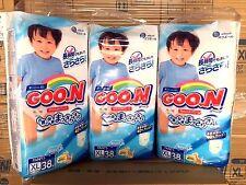 GOON Japanese Nappy Boy Pants Japan Size XL (12~20kg) 38pcs Carton #39666