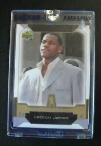 2003-04 Naxcom Upper Deck Lebron James Rookie Card Uncirculated Sealed