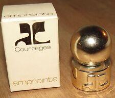 ancien mini Echantillon de Parfum vide Empreinte de Courrèges Paris France