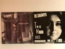 "The Saints PRODIGAL SON (Sealed) + THE MUSIC GOES ROUND MY HEAD 12"" promo Single"