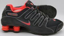 Nike Shox NZ Running Trainers Total Crimson/Black/Grey 488312-004 UK6/US8.5/EU40
