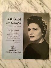 """Amalia Rodrigues: Amalia the Beautiful     '59 UK 7"""" Ep SEG7699"""