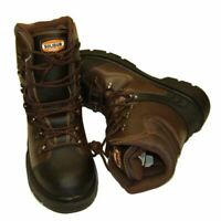 Chainsaw Safety Boots Solidur Forestry Arborist Size 6.5 Euro 40 Class 1