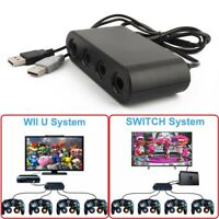4-Port Controller Adapter for Nintendo GameCube to Switch / Wii U / PC US Stock