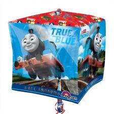 38cm Il Trenino Thomas True Blu TRENO FESTA Cubo Forma Palloncino rivestito