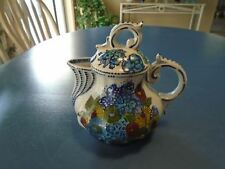 Fabrique en Chine Fancy Blue Flowered Tea Pot