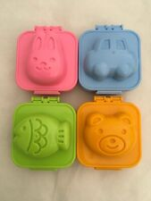 Hard Boiled Egg Mold Rabbit Bear Car Fish for Bento Decoration