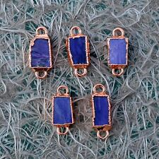 Natural Charoite Gemstone Fashion New Design Boho Jewelry Making Connector 5pc