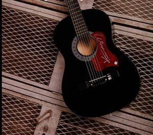 GFA Suddenly I See KT TUNSTALL Signed Acoustic Guitar K1 PROOF COA
