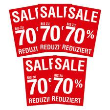 """SPARPACK SPARPACK Plakat """"Sale / Reduziert / 70 Prozent """" DIN A1 AUSVERKAUF SALE"""