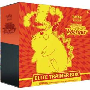 Pokemon Sword & Shield Vivid Voltage Elite Trainer Box | New and Sealed Pikachu